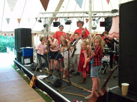 Just So Festival Band in a Day workshop